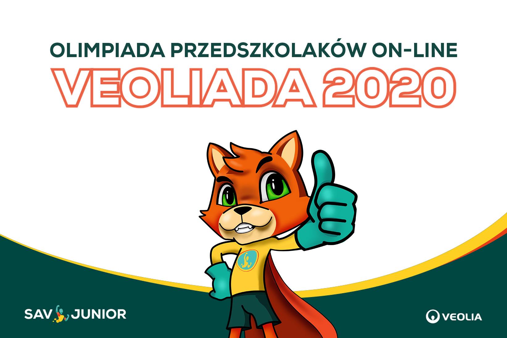 Veoliada-olimpiada przedszkolaków on-line