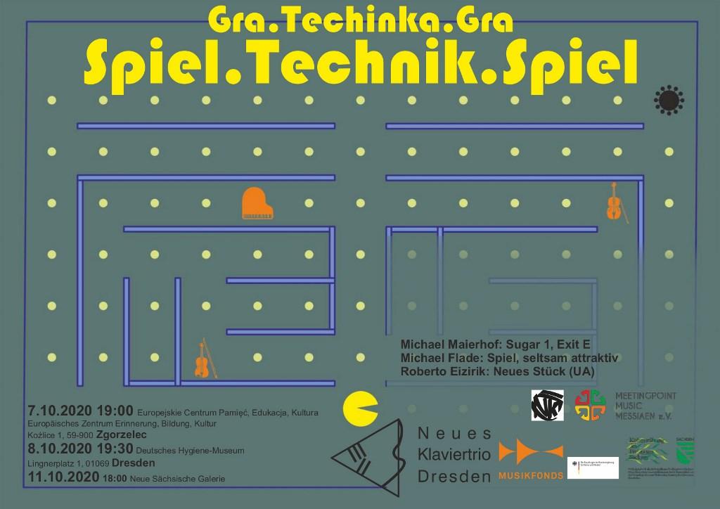Zaproszenie na koncert Gra.Technika.Gra