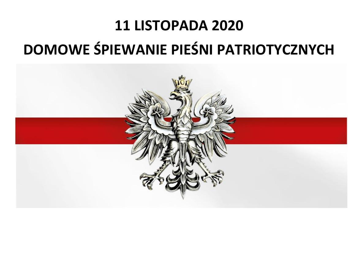 Domowe Śpiewanie Pieśni Patriotycznych w Zgorzelcu
