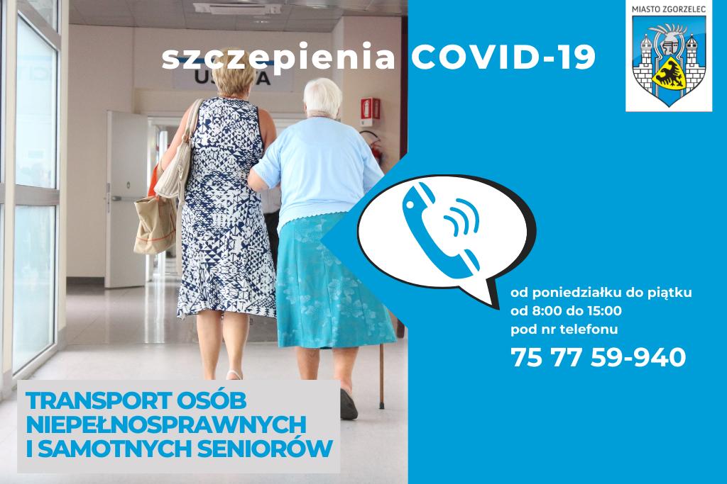 COVID-19 - informacje o szczepieniach i transporcie