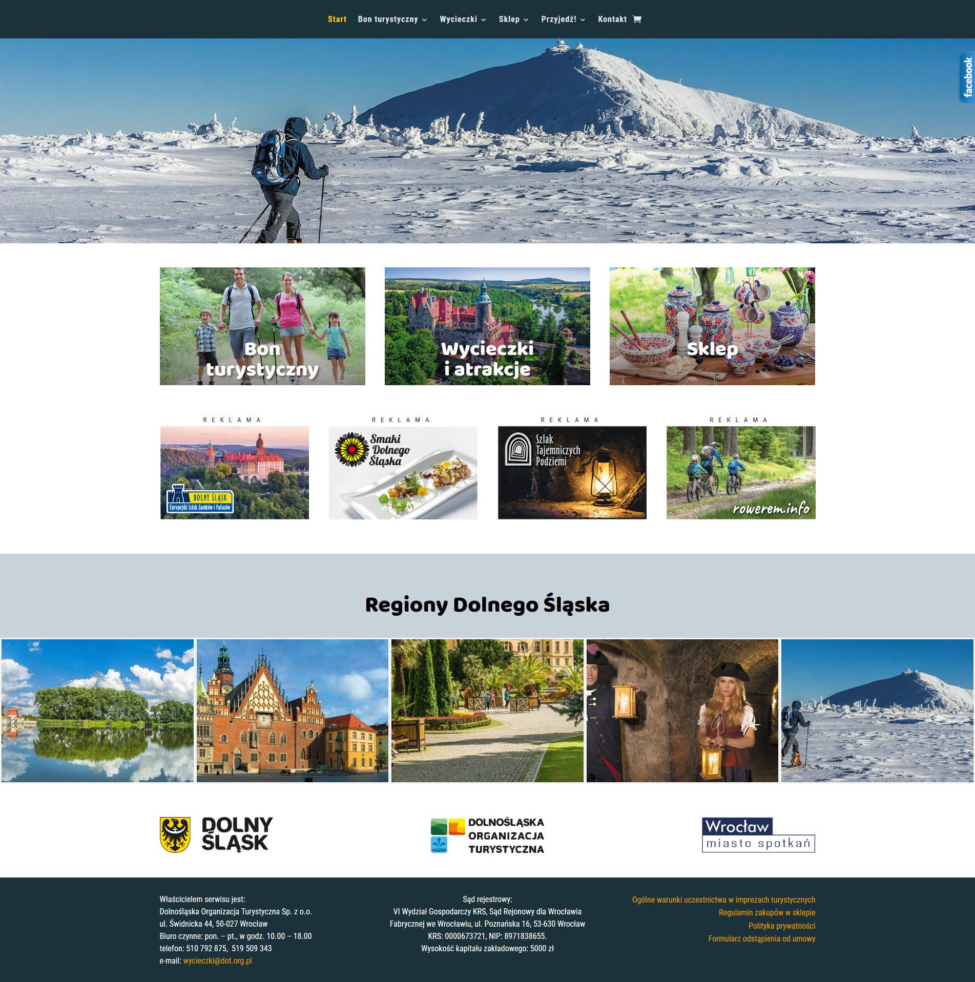 Nowy portal turystyczny z ofertami Dolnego Śląska