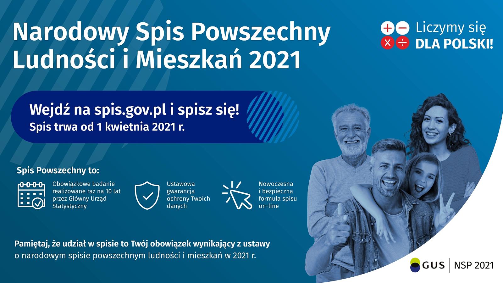 Narodowy Spis Powszechny Ludności i Mieszkań 2021 - warto wiedzieć