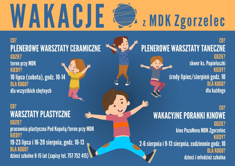 Wakacje z Miejskim Domem Kultury w Zgorzelcu