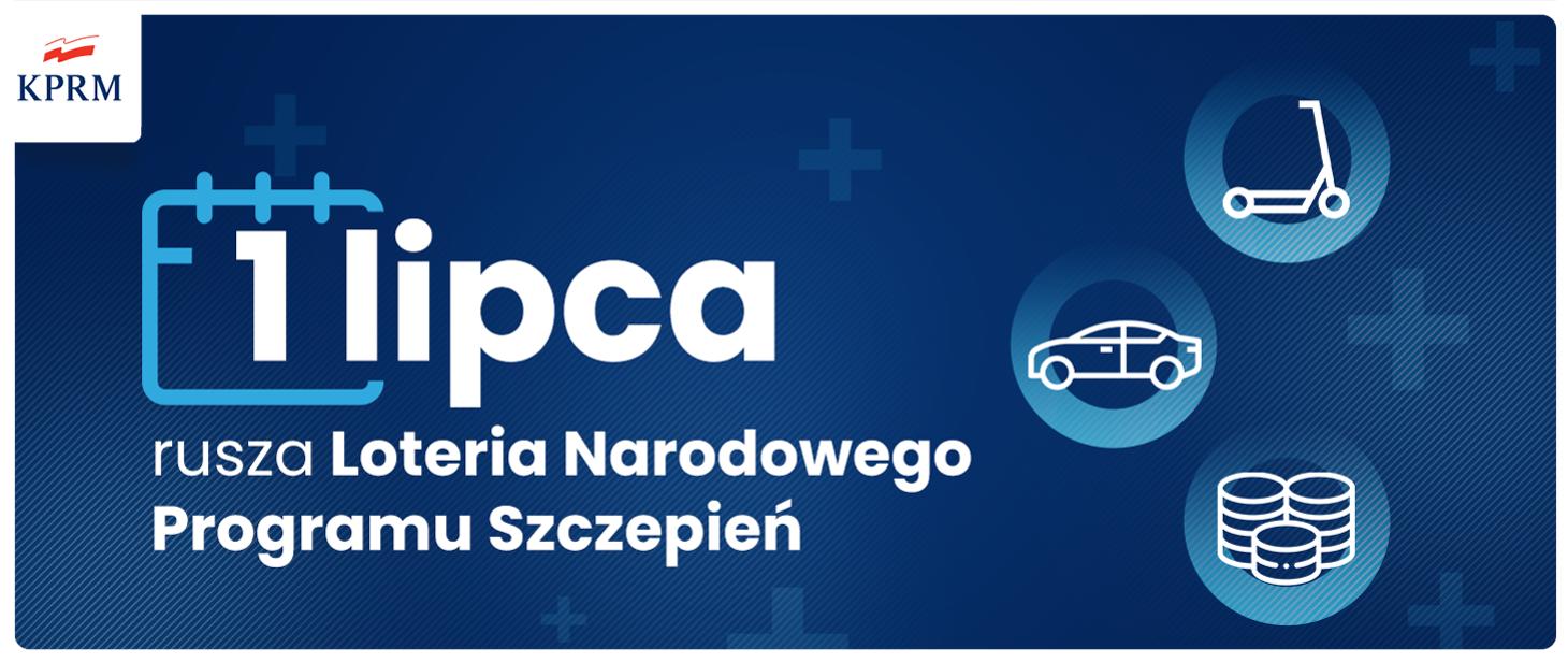 1 lipca rusza Loteria Narodowego Programu Szczepień