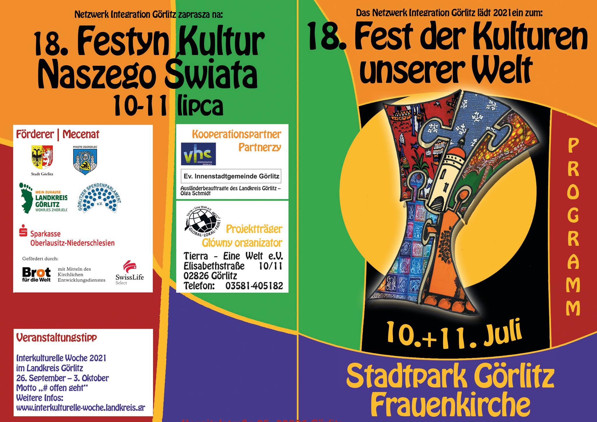 18. Festyn Kultur Naszego Świata 2021