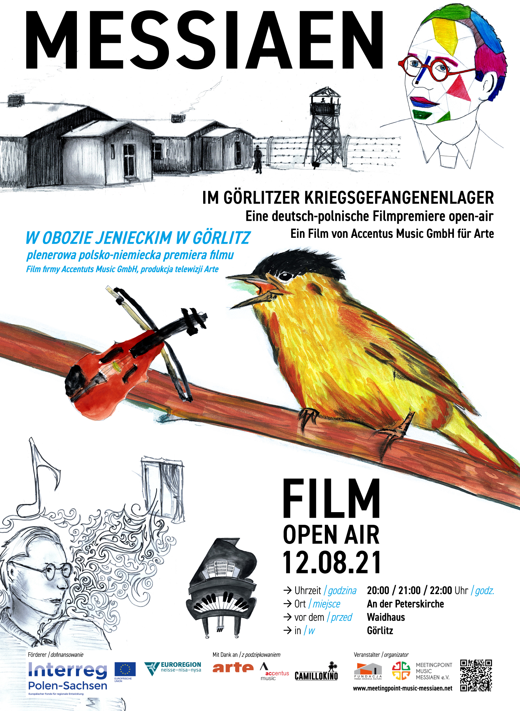 Pokaz filmu Kwartet na koniec czasu. Olivier Messiaen i jego Quatuor pour la fin du temps
