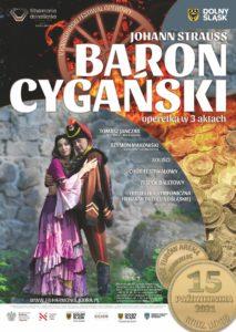 BARON CYGAŃSKI operetka w 3 aktach 15 października w Zgorzelcu