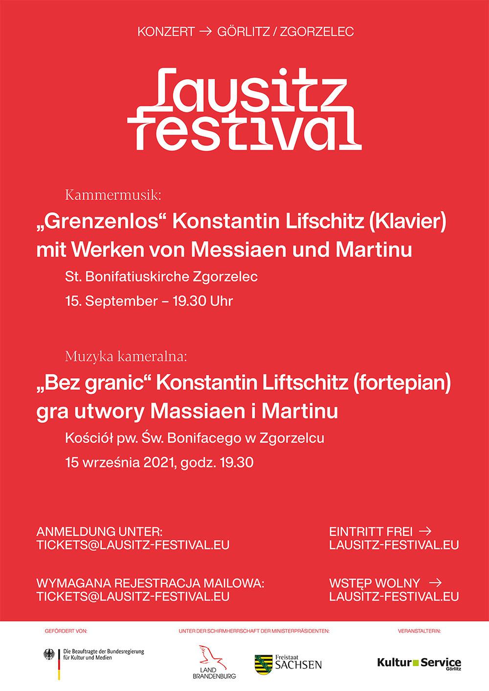 Lausitz Festival z gościnnym koncertem w Zgorzelcu