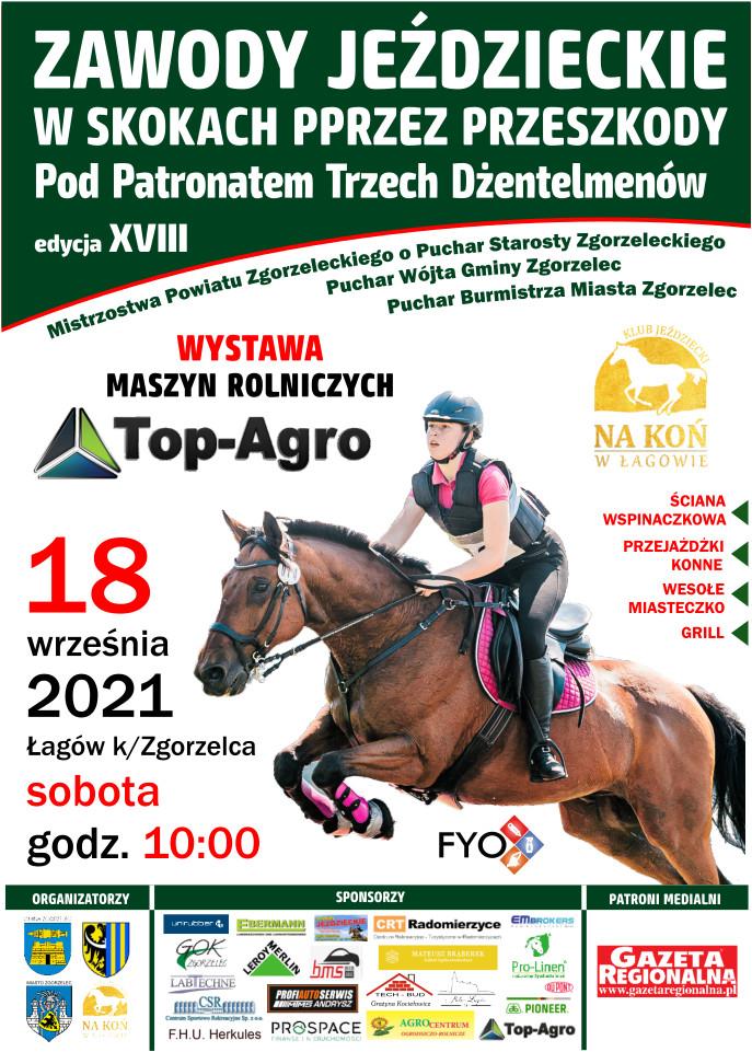 18 września konne Zawody w Skokach przez Przeszkody w Łagowie