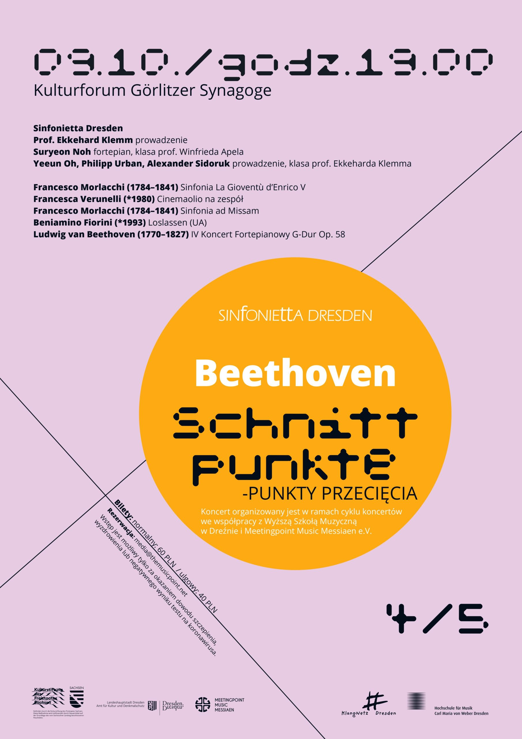 W görlitzkiej Synagodze zabrzmi Beethoven