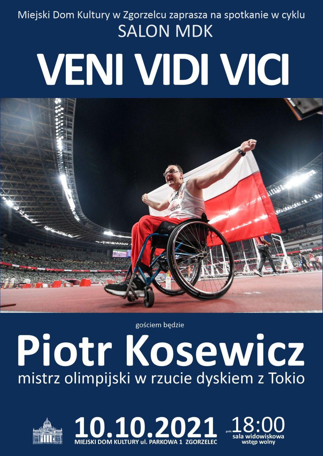 Spotkanie z mistrzem paraolimpijskim Piotrem Kosewiczem